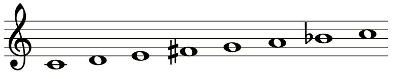 Scala di Alexander Skrjabin