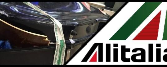 La viola da gamba del '600 distrutta da Alitalia