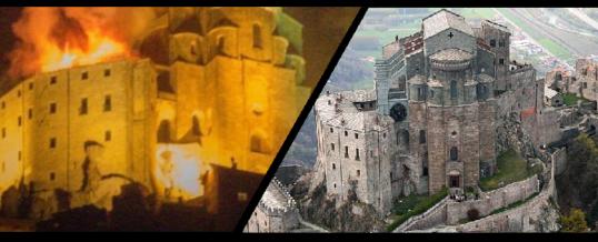 Incendio alla Sacra di San Michele, In fiamme un simbolo piemontese di tradizione, cultura e arte